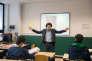"""François Jourde, professeur de philosophie à Bruxelles I, estime qu'en matière de pédagogie, """"on a pris le meilleur de chaque pays""""."""
