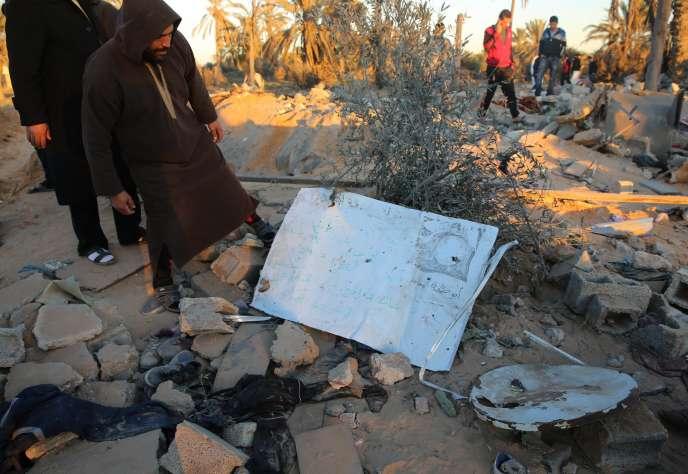 Le 19 février, un raid aérien mené par les Etats-Unis a détruit un repaire de l'EI à proximité de Sabratha, une ville de l'ouest libyen située à une soixantaine de kilomètres de Tripoli.