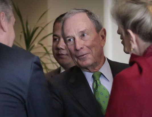 L'ancien maire de New York, Michael Bloomberg, le 27 janvier.