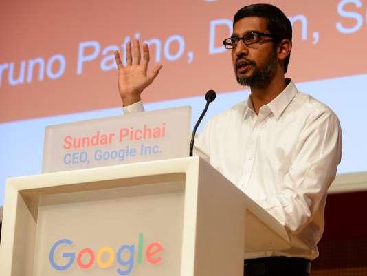 Sundar Pichai à Sciences Po, mercredi 24 février.
