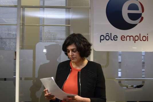 La ministre du travail Myriam El Khomri le 24 février.