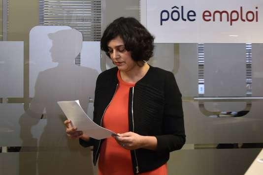 """Pour la ministre du travail, Myriam El Khomri, """"il n'y a aucun bug"""" dans les chiffres du chômage de janvier."""