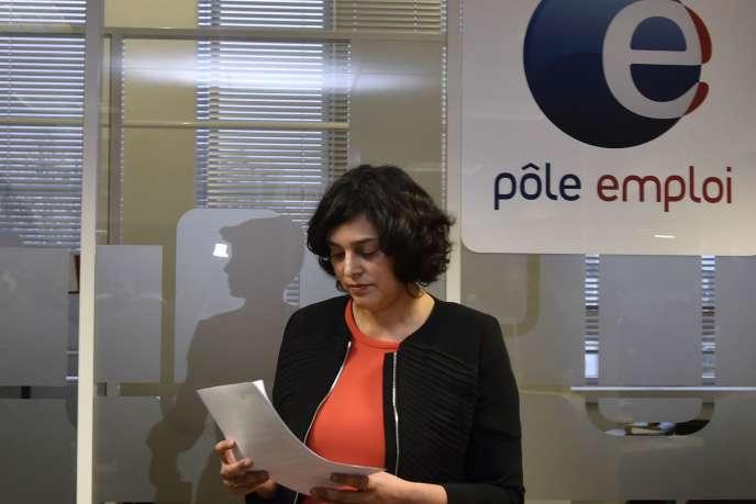 La ministre du travail, Myriam El Khomri, s'est félicitée d'une «une baisse trimestrielle significative» du chômage.