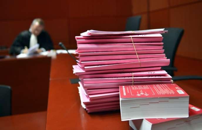 Des syndicats d'avocats et de magistrats protestent contre le manque de moyens au tribunal de grande instance de Créteil. (Illustration)