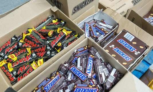 Le rappel des millions de barres chocolatées s'organise.
