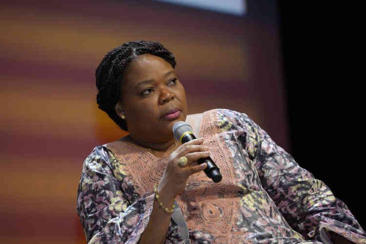 """c, activiste et prix Nobel de la paix : """"Les femmes africaines sont fortes, c'est dans notre ADN. Cela fait partie de notre histoire."""""""