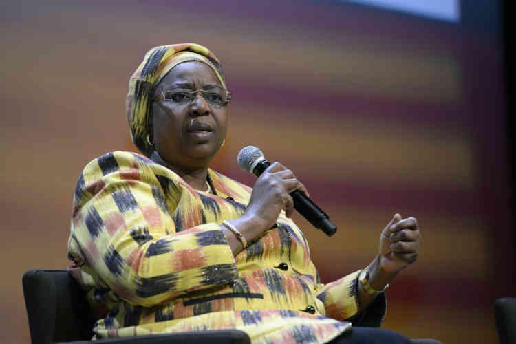 """Awa Coll Seck, ministre de la santé et de l'action sociale du Sénégal : """"Les hommes doivent trouver leur intérêt dans l'émancipation des femmes."""""""