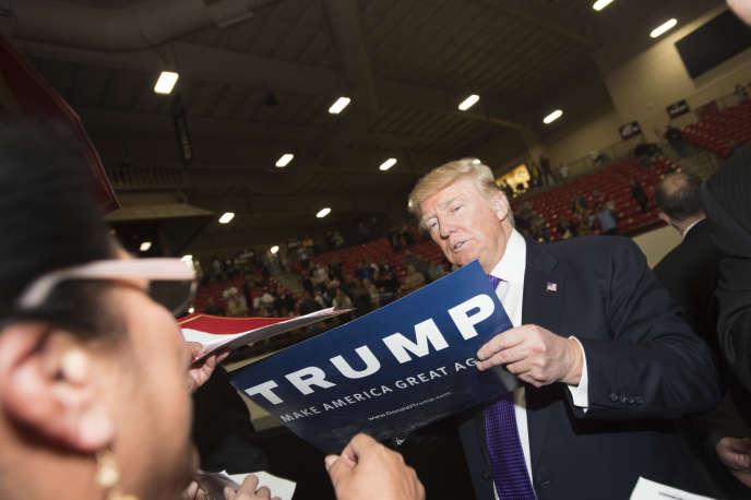Donald Trump à Las Vegas le 23 février 2016.