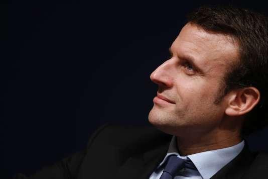 Emmanuel Macron, le 24 février.
