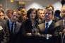 """""""Manuel Valls a repris la main sur le dossier, en accord avec l'Elysée"""". (Photo: Chalampé, le lundi 22 février. Visite du premier ministre, du ministre de l'industrie et de la ministre du travail dans le Haut-Rhin)."""