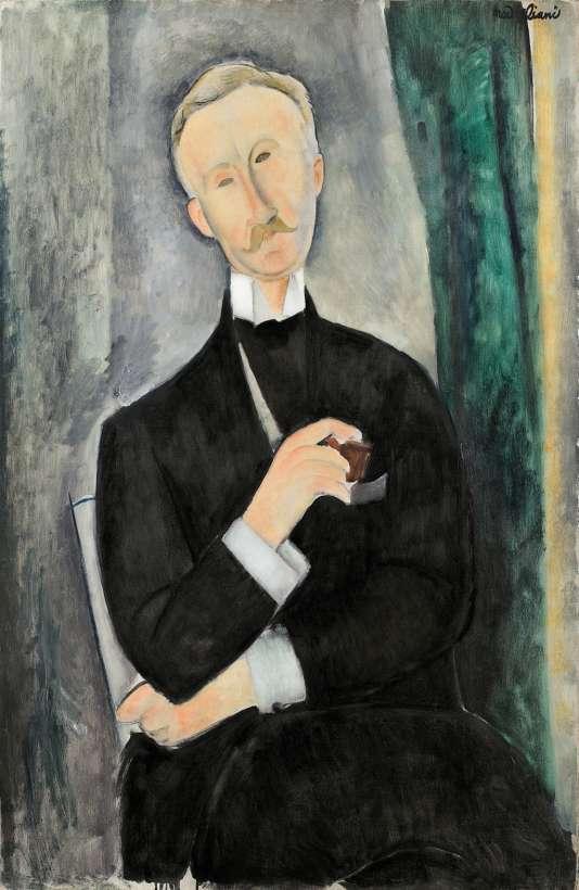 Portrait de Roger Dutilleul (1919).