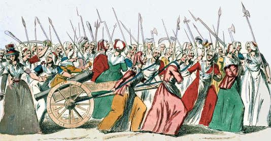 Marche des femmes sur Versailles du 5 octobre 1789 - CC0 Domaine public