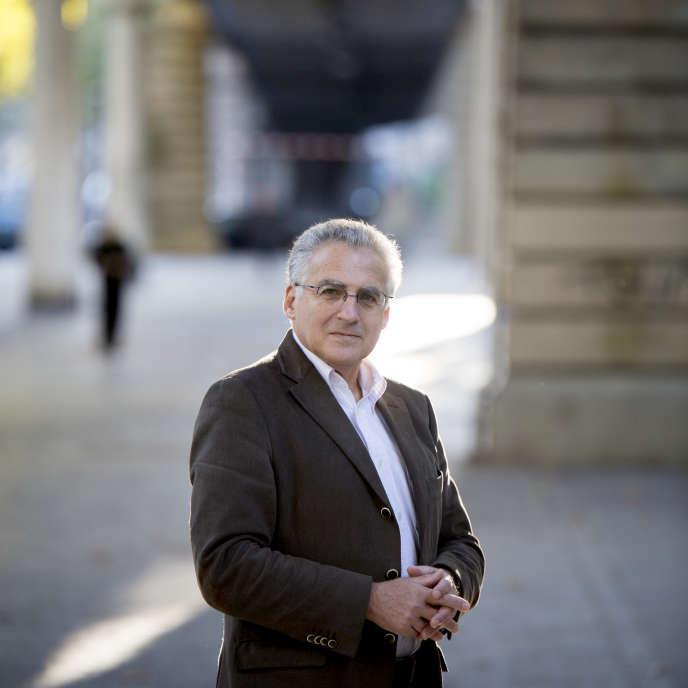 Pierre Pollak à Paris, le 9 octobre 2015.