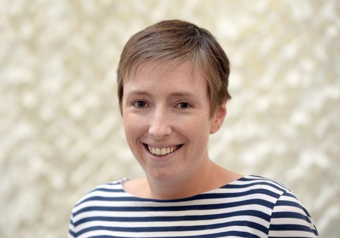 Caroline de Haas, en avril 2014, à Paris.