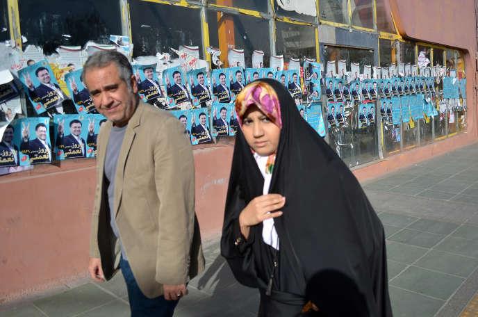 A Téhéran, le 23 février.