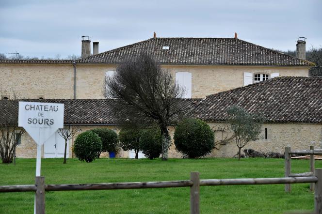 Le château de Sours, à Saint-Quentin-de-Baron (Gironde), a été racheté par le milliardaire chinois Jack Ma.