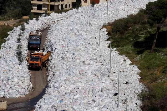 A Beyrouth, le 25 février.