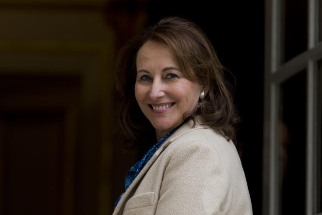 L'ancienne ministre de l'environnement Ségolène Royal, à l'hôtel Matignon à Paris, le 18 février 2016.