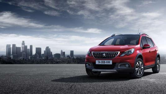 Le Peugeot 2008 restylé, l'un des nouveaux venus sur le segment des SUV.