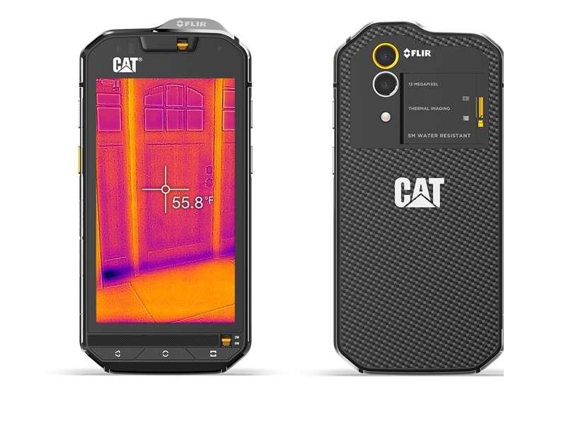 Avec son allure de bulldozer, le Cat S60 ne participera pas aux défilés de mode des smartphones aux côtés de Samsung et Apple. Mais le téléphone de l'industriel américain a fait parler de lui au Dalon du mobile de Barcelone avec sa caméra thermique intégrée, qui s'adresse donc à certains professionnels comme les électriciens ou les pompiers, mais aussi au grand public. Ce téléphone 4G embarquant un écran de 4,7 pouces, un peu moins de 3 Go de mémoire vive et un espace de stockage de 32 Go est aussi extrêmement robuste, et peut résister jusqu'à cinq heures environ sous l'eau. Le tout sera commercialisé à environ 650 euros.