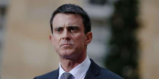 Le premier ministre, Manuel Valls, le 25 février à Paris.