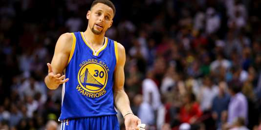 Stephen Curry, à Miami, le 24février.
