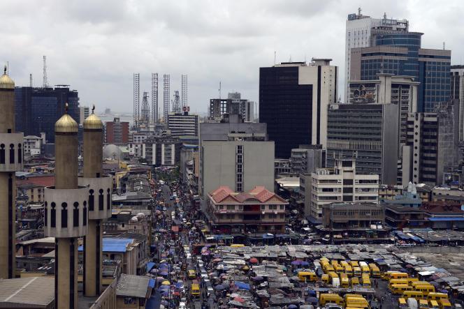Lagos, capitale économique du Nigeria.