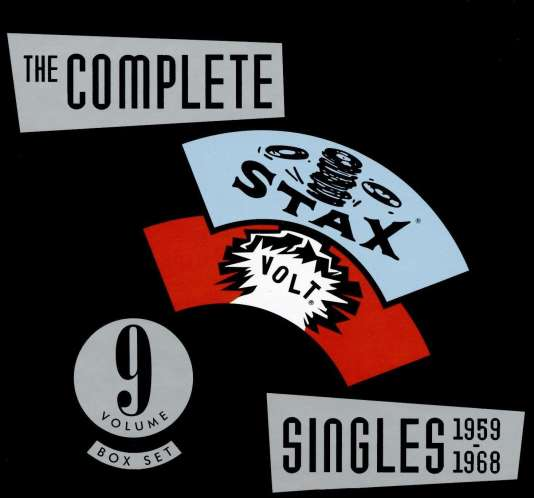 Pochette du coffret «The Complete Stax/Volt Singles 1959-1968».