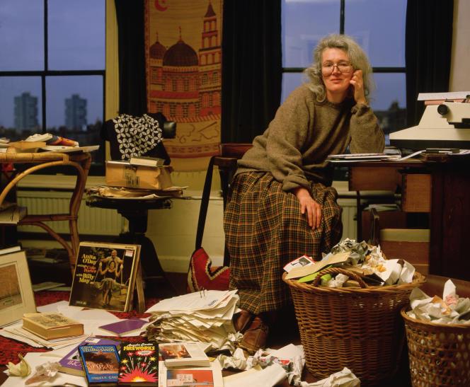 Angela Carter (1940-1992).