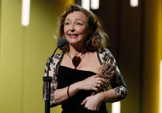 """L'actrice Catherine Frot a remporté le César de la meilleure actrice pour son rôle dans """"Marguerite""""."""