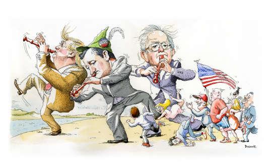 Le populisme, un phénomène politique récemment plus associé à l'Europe, serait-il en train de s'imposer aux Etats-Unis?