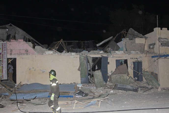 L'opération américaine visait un camp d'entraînement, le camp Raso, situé à un peu moins de 200 kilomètres au nord de Mogadiscio.