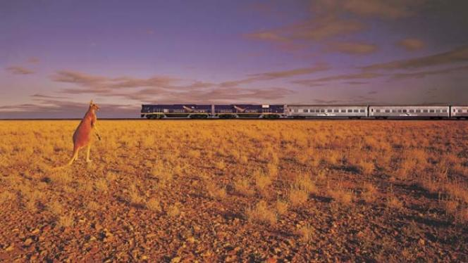 L'Indian Pacific traverse l'Australie en 65 heures
