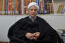 L'ayatollah Youssef Saanei, à Qom, le 11 février 2016.