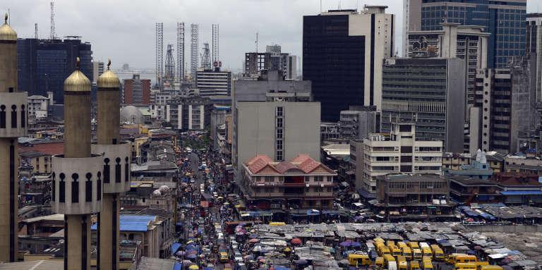 Une vue de Lagos. La capitale économique du Nigeria est au 221e rang des pires du monde, selon un classement de le cabinet Mercer.