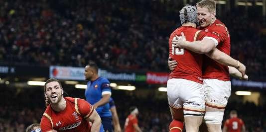 Les Gallois ont battu l'équipe de France, le 25 février à Cardiff.
