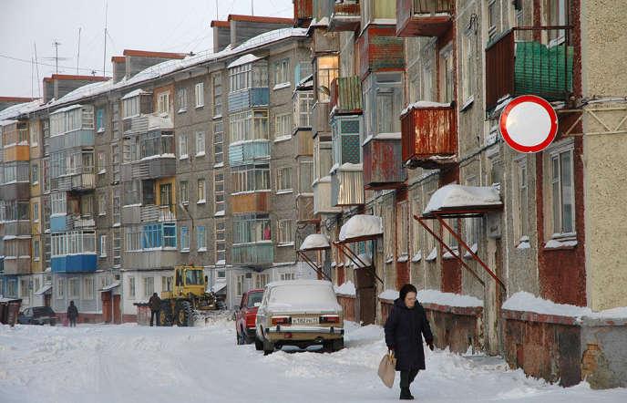 La ville minière de Vorkouta, dans le nord de la Russie.