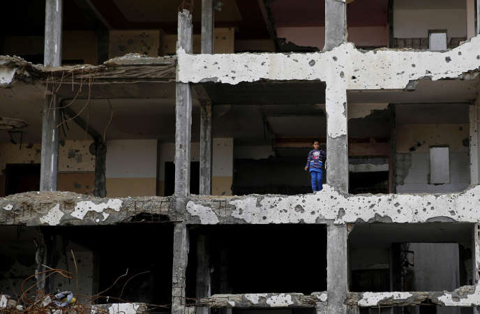 A Beit Lahiya, dans la bande de Gaza, en février 2016.