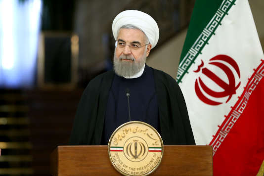 Le président iranien Hassan Rohani, le 27 février 2016, à Téhéran.
