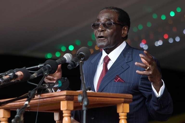 Le président du Zimbabwe Robert Mugabe, le 27 février.