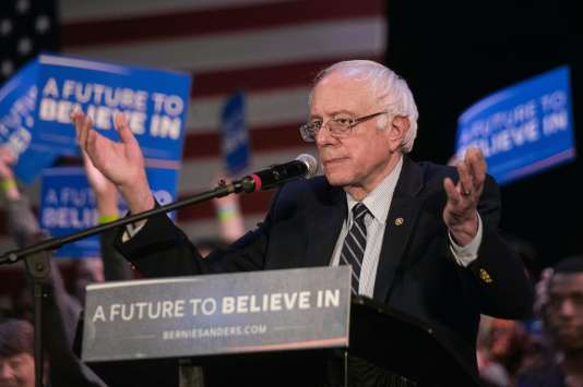 Bernie Sanders, de passage dans l'Etat.