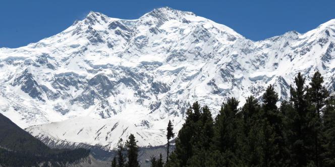 Vue de Nanga Parbat, au Pakistan, en 2014.