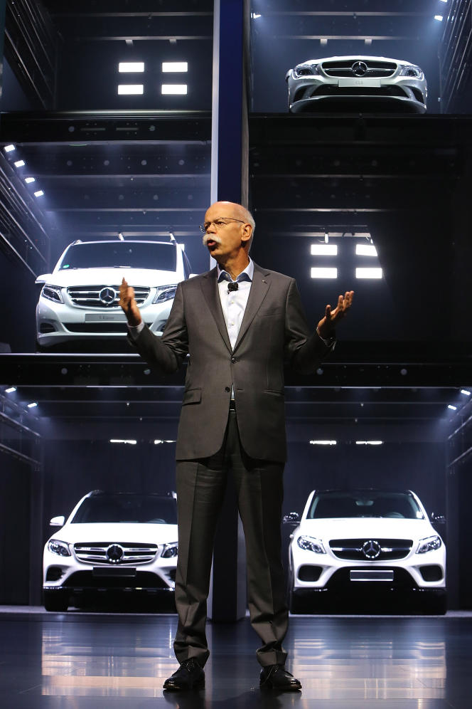 Dieter Zetsche, le PDG de Daimler, est aujourd'hui un véritable mythe de l'industrie automobile allemande.
