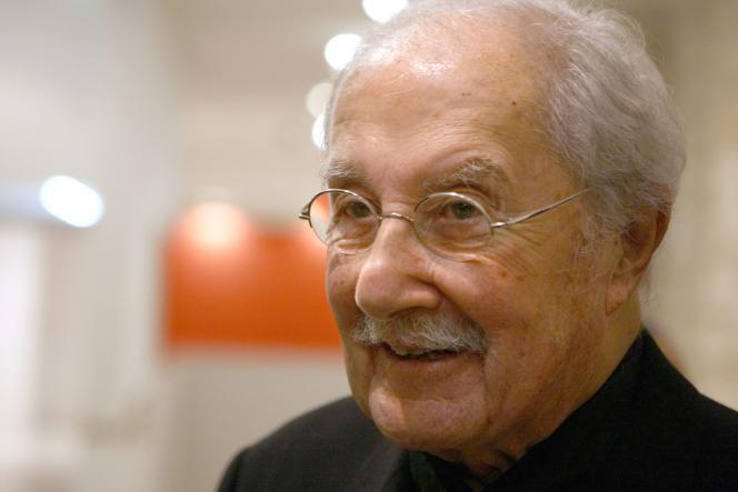 L'architecte, inventeur avec Paul Virilio de la théorie de « la fonction oblique », est mort à l'âge de 93 ans.