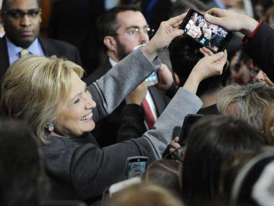 Hillary Clinton, le 29 février.