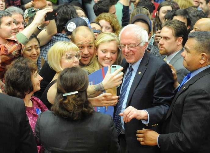 Bernie Sanders, le 28 février.