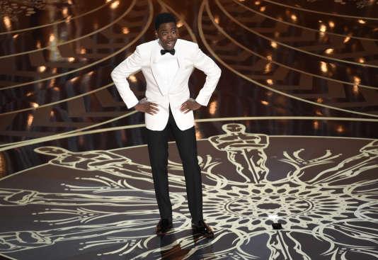Chris Rock, le maître de cérémonie de la 88e édition des Oscars.