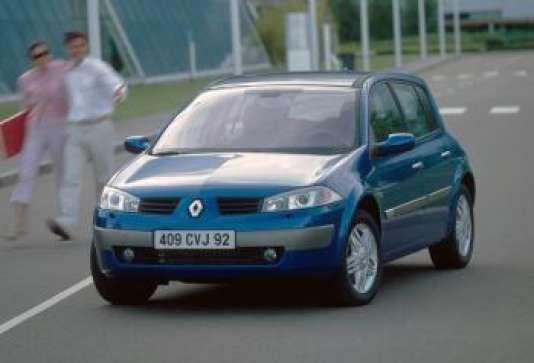 La Renault Mégane.
