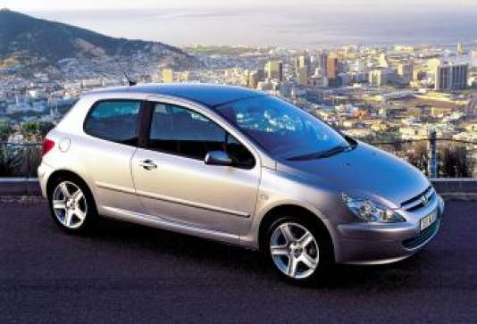 La Peugeot 307.