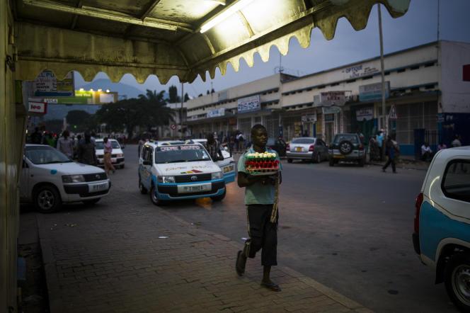 Dans le centre de Bujumbura, le 27 janvier.